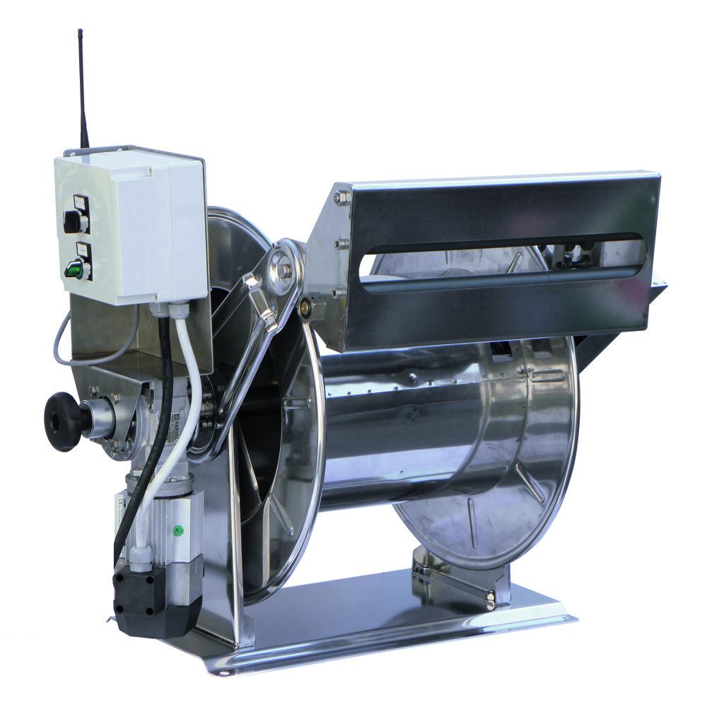 AVEK 1 - Avvolgitubo Azionamento Elettrico (12 V - 24 V - 230 V - 400 V)