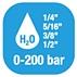 Hose reels per Acqua - Pressione Standard 0-200 BAR