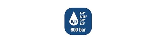 Avvolgitubo per Acqua - Alte Pressioni 600 BAR