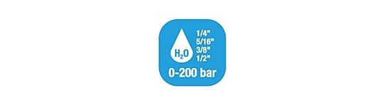 Avvolgitubo per Acqua - Pressione Standard 0-200 BAR