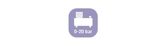 Avvolgitubo per Aria Compressa 0-20 Bar